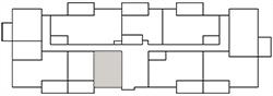 Chateau West Building Map - Studio Suite B