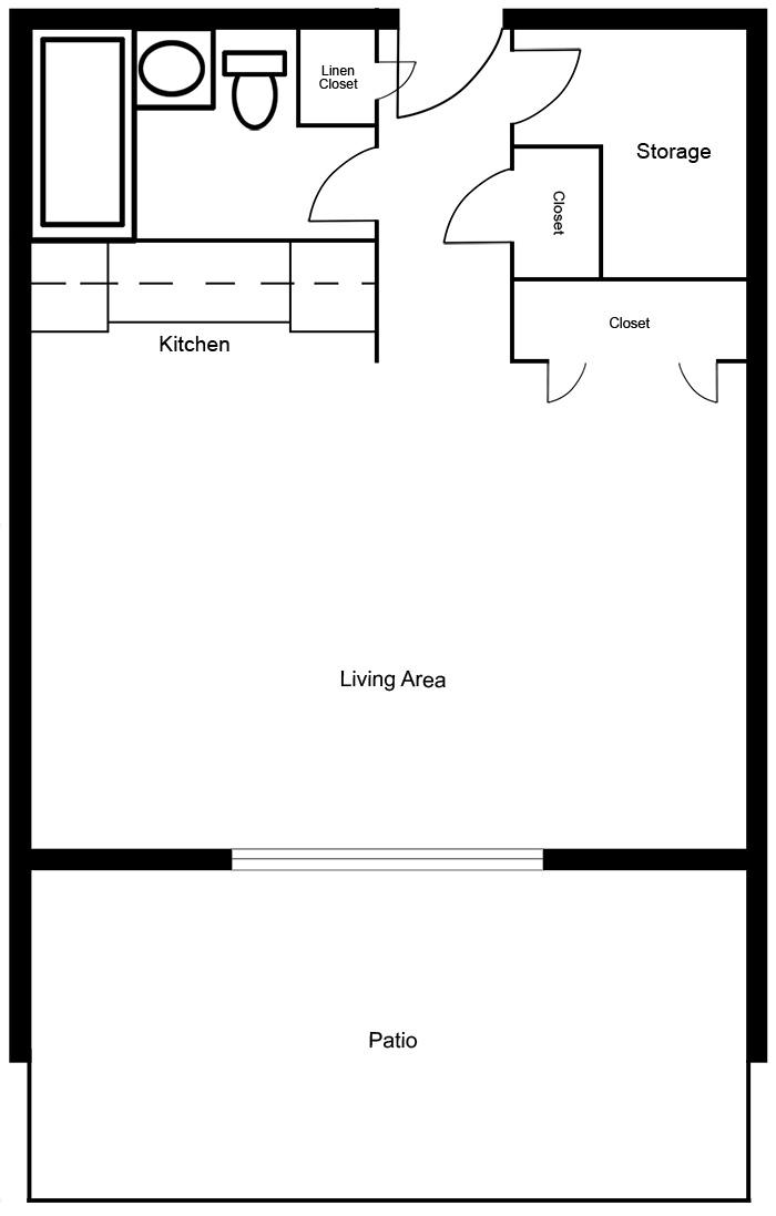 Chateau West - Studio Suite C